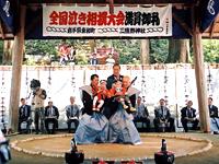 第19回毘沙門まつり 全国泣き相撲大会