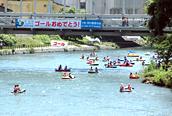 第30回北上川ゴムボート川下り大会