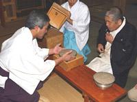 飯盛神社のかゆ占