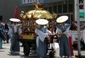 印鑰神社春季大会(鮒取り神事)